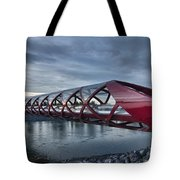The Peace Bridge Tote Bag