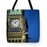 The Peace Tower, On Parliament Hill Tote Bag