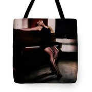 The Piano Girl Tote Bag