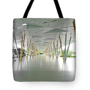 The Pick Up Point At Changi Airport In Singapore  Tote Bag