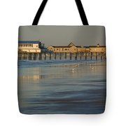 The Pier On Old Orchard Beach Tote Bag