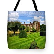 The Pig And Castle Tote Bag