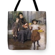 The Pinch Of Poverty Tote Bag