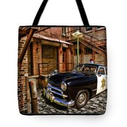 The Police Hideout Tote Bag