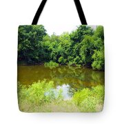 The Pond View Tote Bag