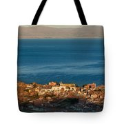 The Population Of Copacabana On The Shores Of Lake Titicaca. Republic Of Bolivia. Tote Bag