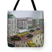 The Portsmouth Ohio Post Office On The Esplanade 1948 Tote Bag