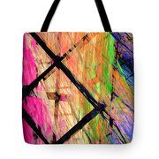 The Powers That Bind Us Panel Tote Bag by Andee Design
