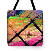The Powers That Bind Us Square D Tote Bag