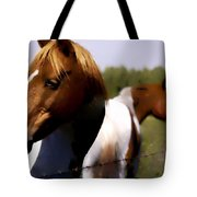 The Prairie Horses Tote Bag