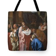 The Presentation Of Christ In The Temple Tote Bag