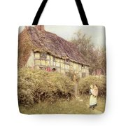 The Priest's House West Hoathly Tote Bag