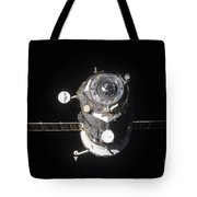 The Progress 46 Spacecraft Tote Bag