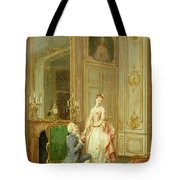 The Proposal Tote Bag by Manuel Garay y Arevalo