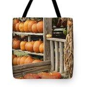 The Pumpkin Shack At Isom's Orchard Tote Bag