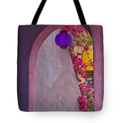 The Purple Lantern Tote Bag