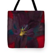 The Purple Lily Tote Bag