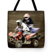 The Race To The Finish Line Tote Bag