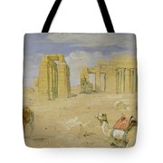 The Ramesseum At Thebes Tote Bag