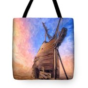 The Ravages Of Time Tote Bag