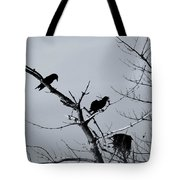 The Raven Tree Tote Bag
