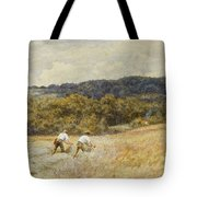 The Reapers Tote Bag by Helen Allingham