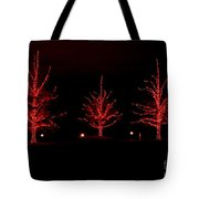 The Red Coat Tote Bag