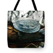 The Red Eared Slider Tote Bag