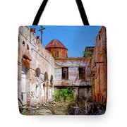 The Red Fan Tote Bag