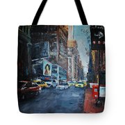 The Red Line Tote Bag