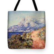 The Red Road Near Menton Tote Bag