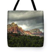 The Red Rocks Of Sedona  Tote Bag