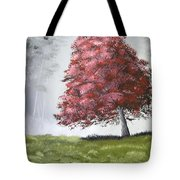 The Red Tree Tote Bag