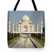 The Reflecting Pool In The Charbagh Or Tote Bag