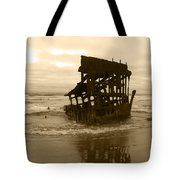 The Remains Of A Ship Tote Bag
