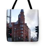 The Review Building 2 Tote Bag