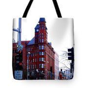 The Review Building Tote Bag