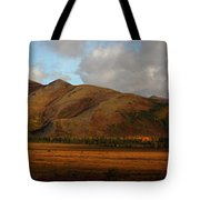 The Richardson Mountains At The Arctic Tote Bag