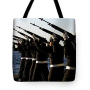The Rifle Detail Aboard Tote Bag