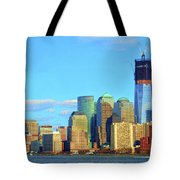 The Rising Freedom Tower Tote Bag