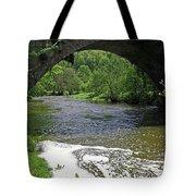 The River Dove Beneath Coldwall Bridge Tote Bag