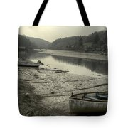 The River Fowey At Lerryn Tote Bag