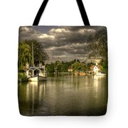 The River Thames At Streatley Tote Bag