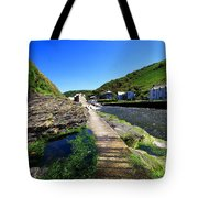 The River Valency At Boscastle Tote Bag