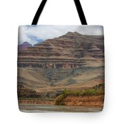 The Riverbend-grand Canyon Perspective Tote Bag