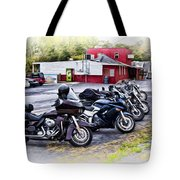 The Riverside Barr And Grill - Easton Pa Tote Bag