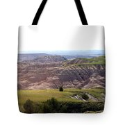 The Road Is Long Tote Bag