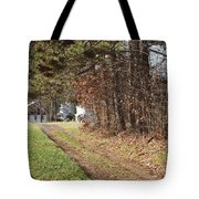 The Road To Redemtion Tote Bag