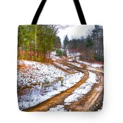 The Road To Spring Tote Bag