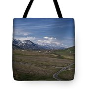 The Road To The Great One Tote Bag